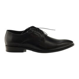 Preto Sapatos clássicos de homem Pilpol 1329 black