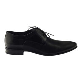 Preto Sapatos masculinos Pilpol 1654 black