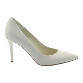 Sapatos Gianmarko 721 bege marrom