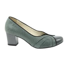 Sapatos femininos Espinto 395 tęg G1 / 2 grey