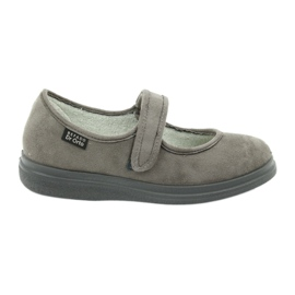 Sapatos femininos Befado Dr.Orto 462D001 cinza