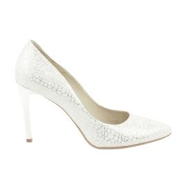 Sapatos femininos Espinto 456/67 branco