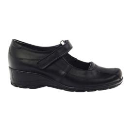 Sapatos de Plataforma confortáveis Angello 371 black preto