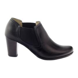 Sapatos pretos de Gregors 553 mulheres