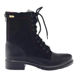 Botas botas femininas Kazkobut 2809 preto