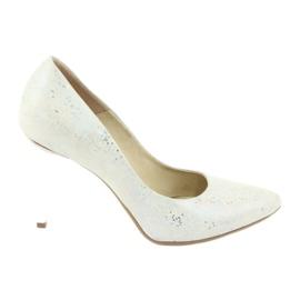 Sapato de senhora Espinto 456/96 branco