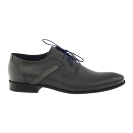 Sapatos masculinos Pilpol PC006 cinza