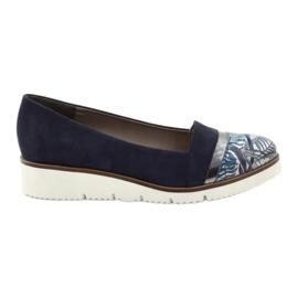Edeo Calçado LORDSY confortável azul marinho