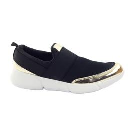 McKey Sapatos softshell esporte em preto / ouro