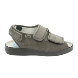 Sandálias para diabéticos Befado 676d006 cinza