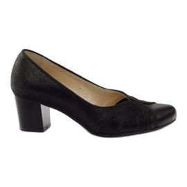 Sapatos femininos Espinto tęg G1 / 2 black preto