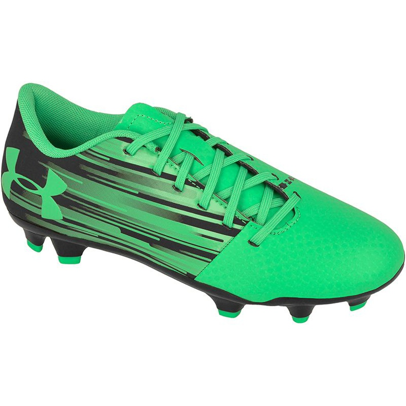 Under Armour Chuteiras holofotes FG Jr. 1289542-003 verde