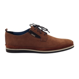 Marrom Sapatos masculinos Badura 7758 brown