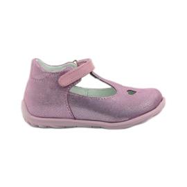Ren But Sapatos Ren 1467 bailarinas de urze -de-rosa