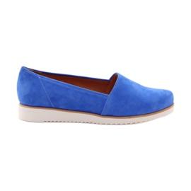 Sapatos femininos Badura azul