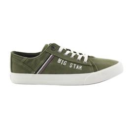 Big Star verde Tênis estrela grande 174315 tênis cáqui