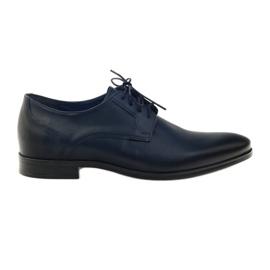 Sapatos Nikopol 1628 chinelos marinha