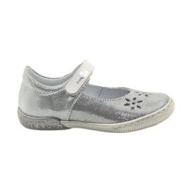 Sapatos de bailarina para raparigas Ren But 3285 cinza