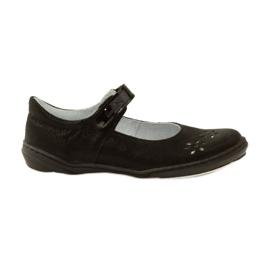 Sapatos de bailarina para raparigas Ren But 4351 preto
