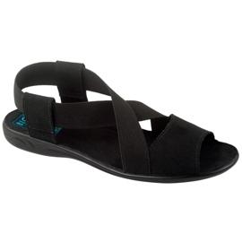 Preto Sapatos femininos Adanex 17498