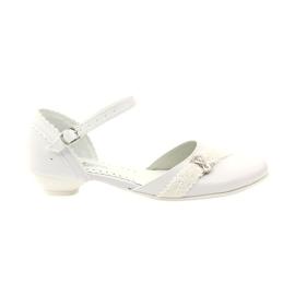 Bailarinas de cortesia Comunhão Miko 714 branco