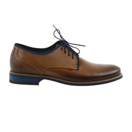 Marrom Sapatos masculinos marrons Nikopol 1653