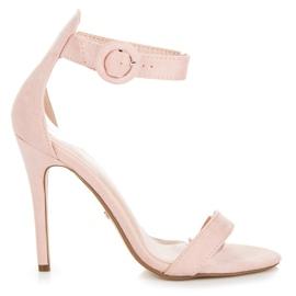 Seastar -de-rosa Sandálias presas com fivela