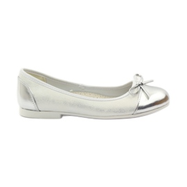 American Club Sapatos de bailarina com um arco americano branco