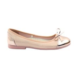 American Club Sapatos de bailarina com um arco americano