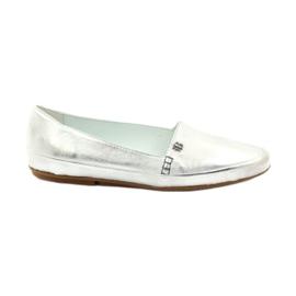 Sapatos Badura 6352 prateado cinza