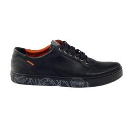 Preto Calçado desportivo para homem Badura 3361 black