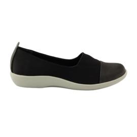 Preto Sapatos muito confortáveis Aloeloe slipons