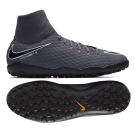Nike Hypervenom PhantomX 3 Academia DF TF M AH7276-081 cinza