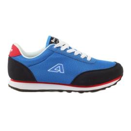 American Club Calçado desportivo azul americano