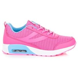 Ax Boxing Sapatos Esportivos Elegantes -de-rosa