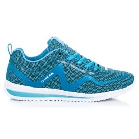 Ax Boxing azul Calçados esportivos casuais