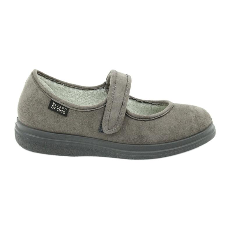 Cinza Sapatos femininos Befado pu 462D001