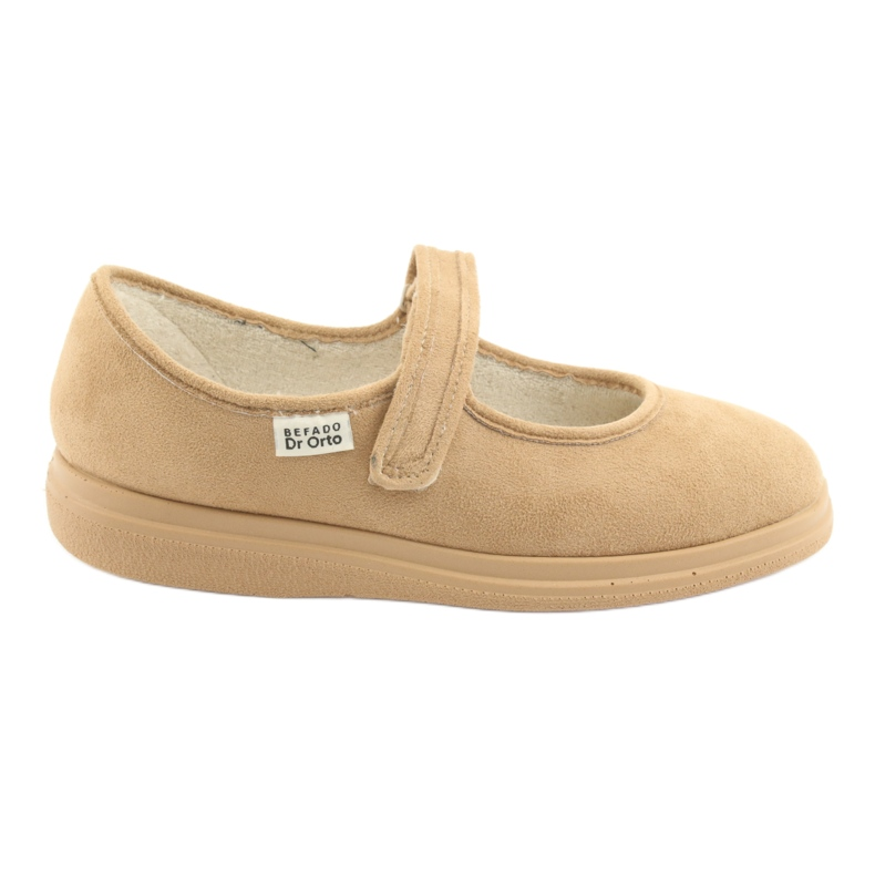 Sapatos femininos Befado pu 462D003 marrom