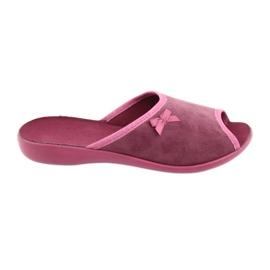 Sapatos femininos Befado pu 254D084 -de-rosa