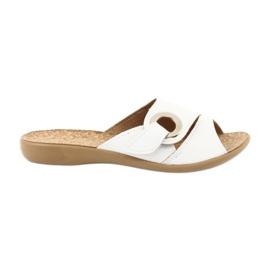 Sapatos femininos Befado pu 265D002 branco