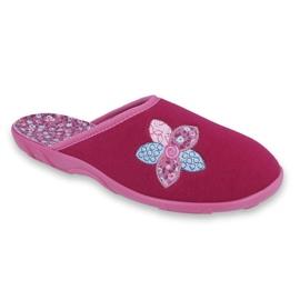 Befado colorido calçados femininos 235D156 -de-rosa