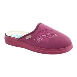 Sapatos femininos Befado pu 132D014 -de-rosa