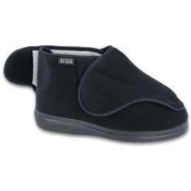 Sapatos masculinos befado pu orto 163M002 preto