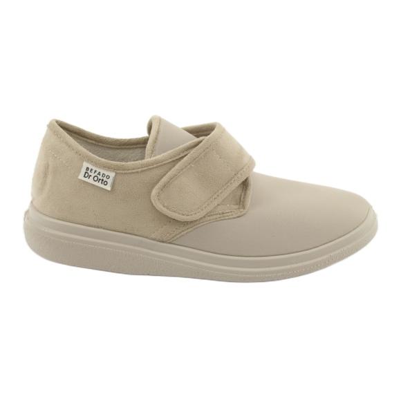 Sapatos femininos Befado pu 036D005 marrom