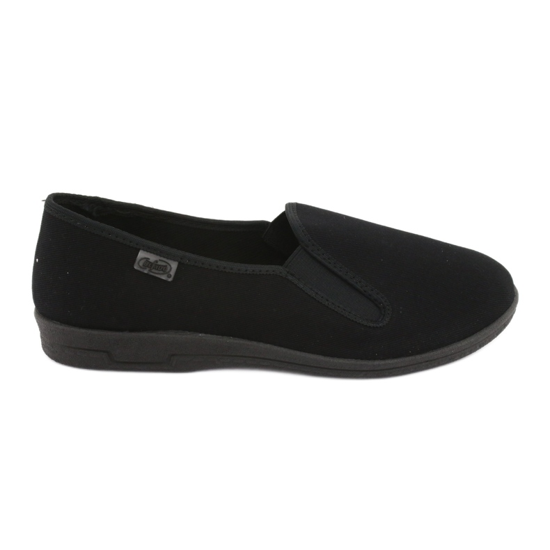 Sapatos masculinos Befado pvc 001M060 preto