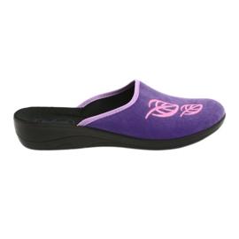 Roxo Sapatos femininos Befado pu 552D001