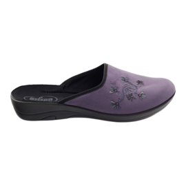 Sapatos femininos Befado pu 552D006 roxo