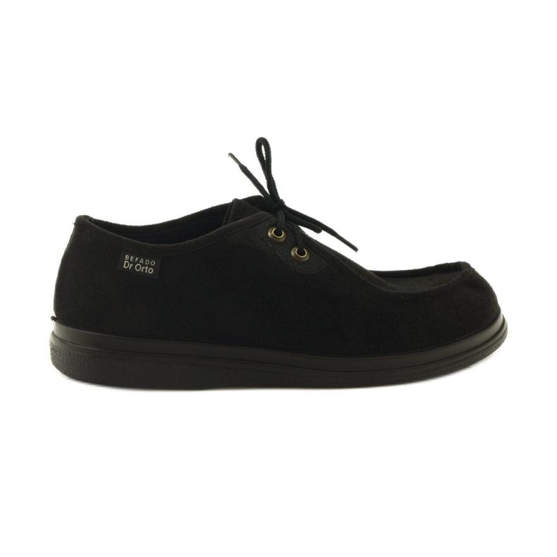 Sapatos femininos Befado pu 871D004 preto