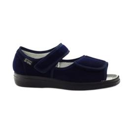 Marinha Sapatos femininos Befado pu 989D002