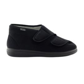 Sapatos masculinos Befado pu 986M003 preto